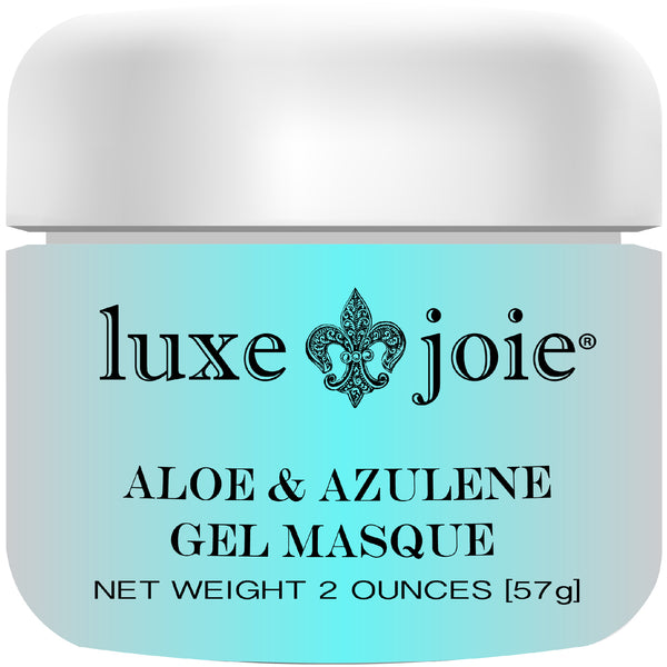 Aloe & Azulene Gel Masque Hydrating Facial Mask for Dry Skin by LuxeJoie