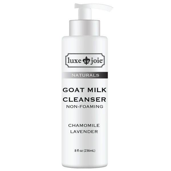Goat Milk Cleanser Non Foaming Face Wash by LuxeJoie Skincare