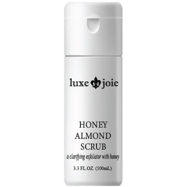 HONEY ALMOND SCRUB FACIAL EXFOLIATING TREATMENT FOR DRY OILY AND COMBINATION ACNE PRONE SKIN BY LUXEJOIE (4380738289746)