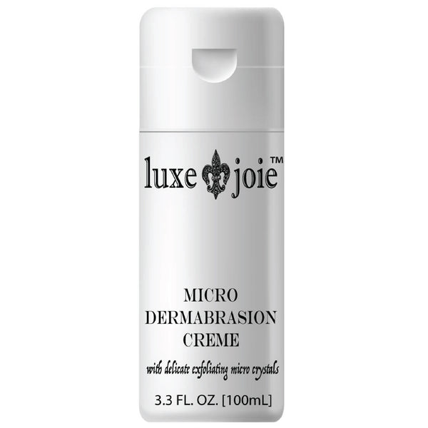 Microdermabrasion Creme facial exfoliates cream with micro beads to scrub dead skin from your face by luxejoie skincare brand (4380736192594)