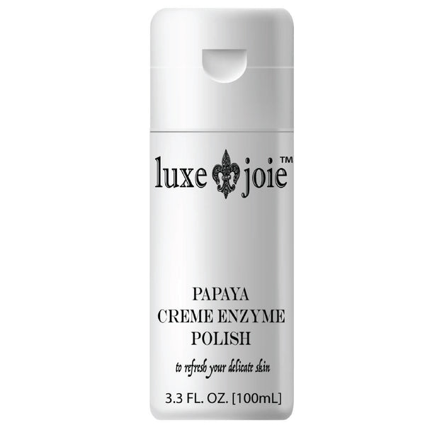 Papaya Creme Enzyme Polish Exfoliating Facial Scrub by LuxeJoie Brand Skincare and Beauty (4380735766610)