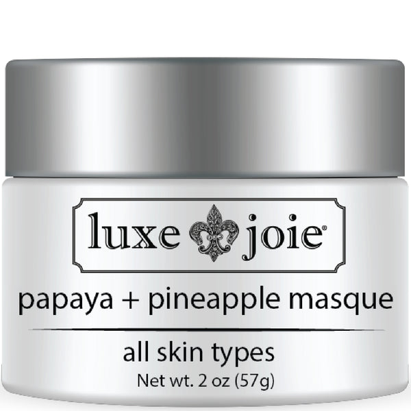 Papaya and Pineapple Masque Face Mask by LuxeJoie Skincare