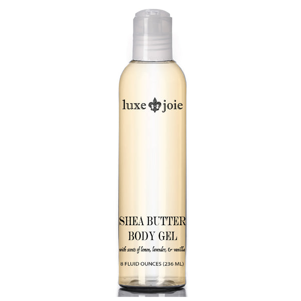 SHEA BUTTER BODY WASH GEL CLEANSING SHOWER BODY WASH FOR ALL SKIN TYPES LUXEJOIE SKIN CARE (4380737994834)