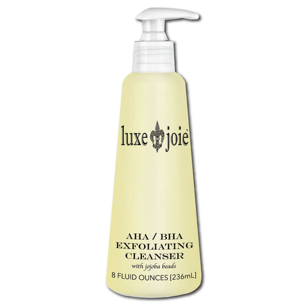 AHA/BHA Exfoliating Cleanser with Jojoba Beads by LuxeJoie