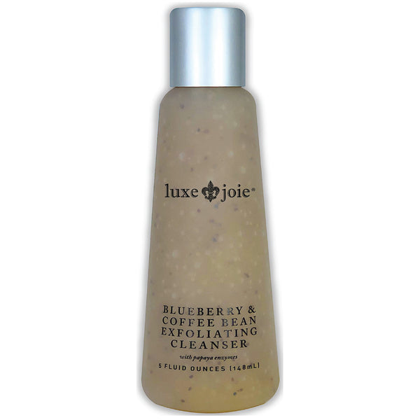 Blueberry & Coffee Bean Exfoliating Cleanser Face Wash - LuxeJoie