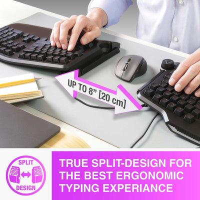 Cloud Nine C989 ErgoFS Ergonomic Mechanical Split-Keyboard