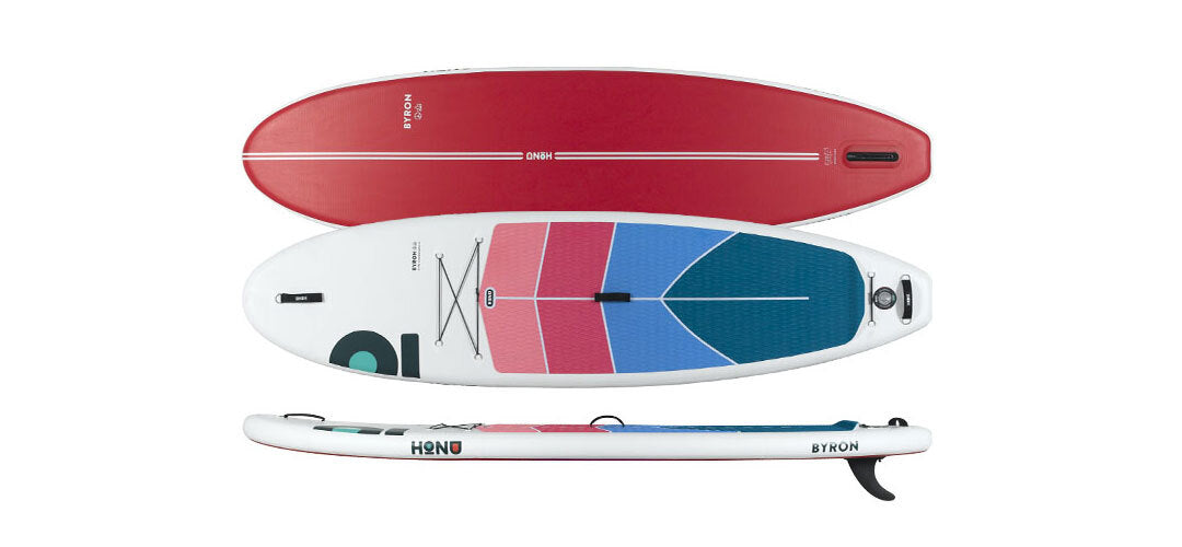 The HONU Byron 10'6 all rounder stand up paddleboard