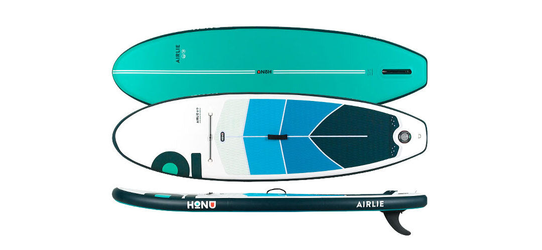 The HONU Airlie 8'6 Kids all rounder stand up paddleboard