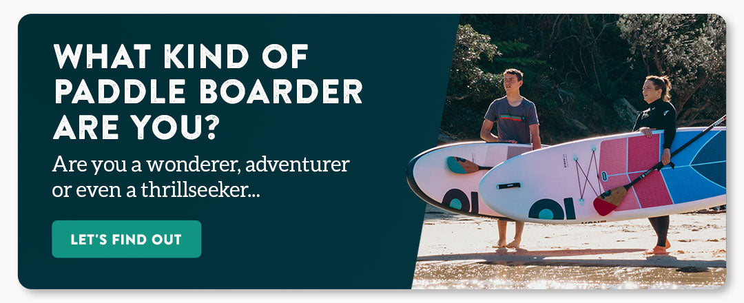 A test to find out what kind of paddleboarder you are