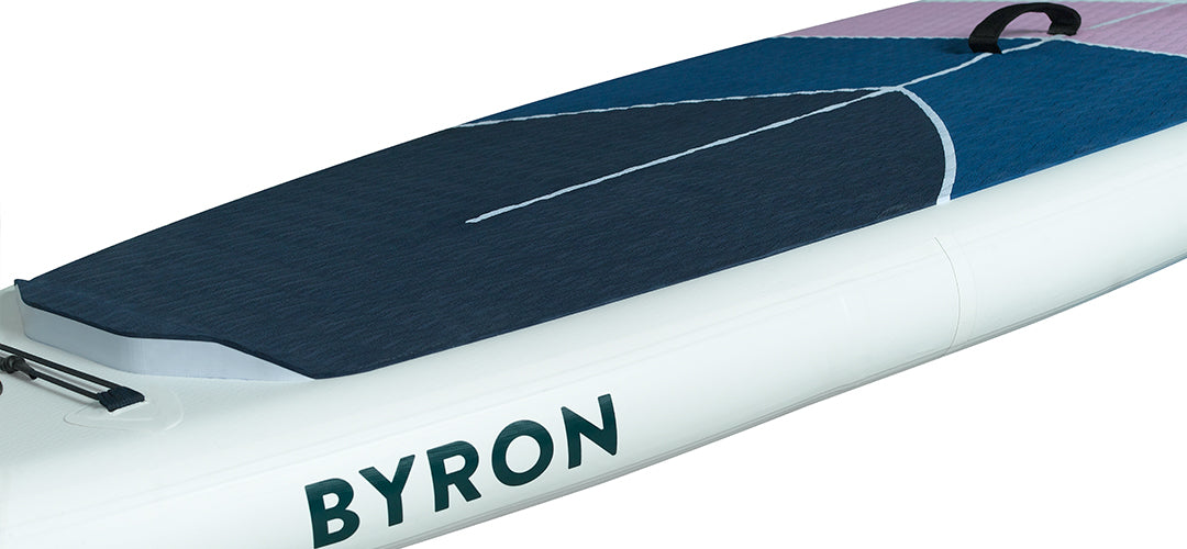 Close up of the HONU upgraded Byron 10'6 all rounder stand up paddleboard