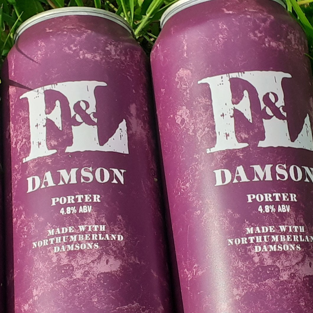 Damson / Porter  (440ml cans)
