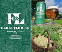 Load image into Gallery viewer, Elderflower / Kolsch-style Ale  (440ml cans)