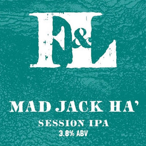 Mad Jack Ha' - Session IPA (12x500ml)