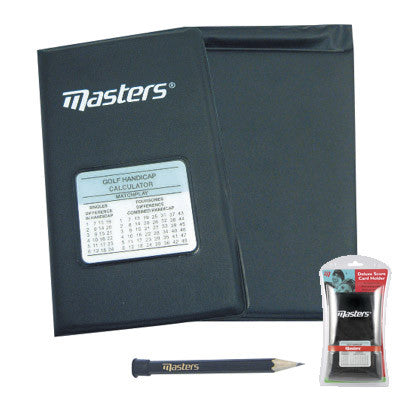 MASTERS - Deluxe Score Card Holder