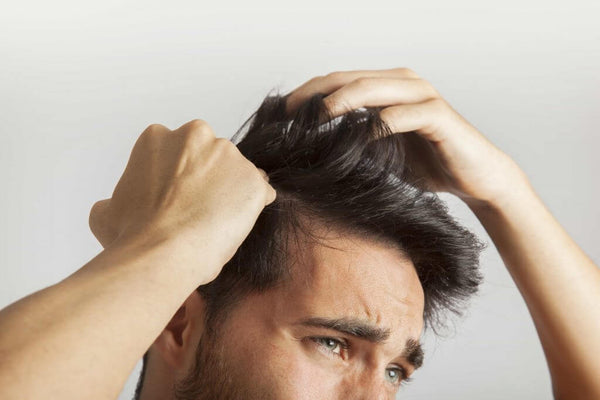 Man Behind The Mirror - Blog - Covid-19 and Hair Loss - Buy Finasteride Online - Buy Minoxidil Online - Buy DHT Shampoo Online