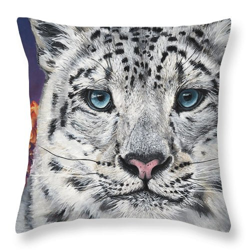 Beast and Beauty - Throw Pillow