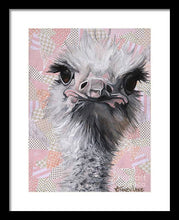 Load image into Gallery viewer, Fuzzy and Fierce - Framed Print