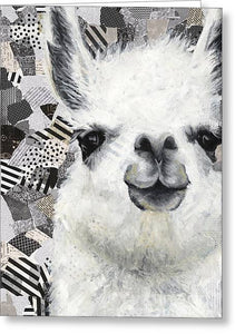 Mr. Llama - Greeting Card