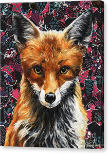 Mrs. Fox - Canvas Print