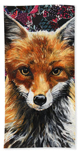Mrs. Fox - Beach Towel