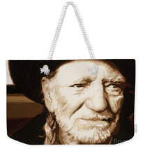 Load image into Gallery viewer, Willie nelson - Weekender Tote Bag
