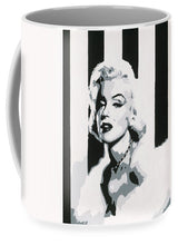 Load image into Gallery viewer, Black and White Marilyn - Mug