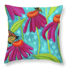 Load image into Gallery viewer, Darling Wildflowers - Throw Pillow