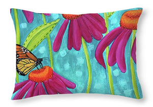 Darling Wildflowers - Throw Pillow