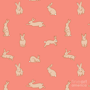 Funny Bunnies - Art Print