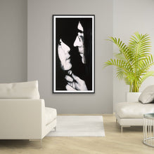 Load image into Gallery viewer, John Lennon and Yoko Ono - Giclee Fine Art Paper and Canvas  Print