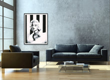 Load image into Gallery viewer, marilyn monroe giclee fine art print of original painting