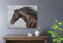 "Load image into Gallery viewer, Original Horse oil painting ""Chester"" canvas"