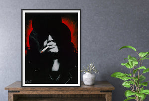 "Giclee Fine Art Print and Canvas Print of ""Slash"""