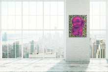 "Load image into Gallery viewer, Original ""Baby Buddha"" painting on canvas"