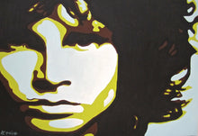 Load image into Gallery viewer, fine art giclee print of original painting of Jim Morrison