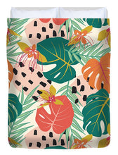 Load image into Gallery viewer, Jungle Floral Pattern  - Duvet Cover