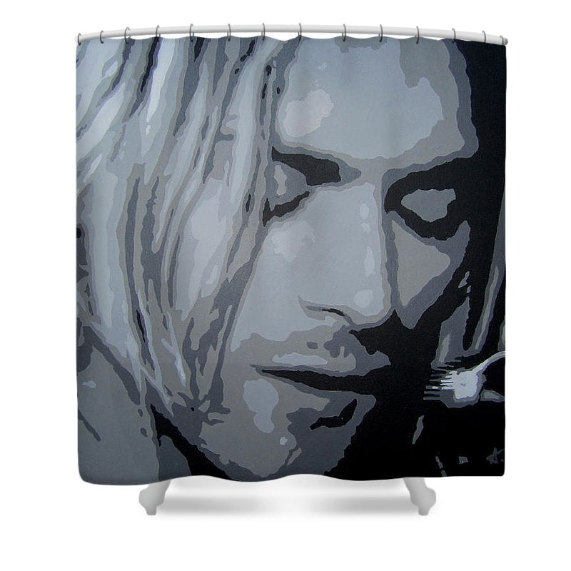 Kurt Cobain - Shower Curtain