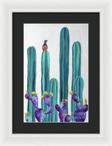On Perch - Framed Print