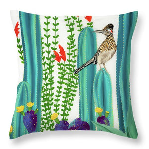 On Perch II - Throw Pillow