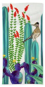 On Perch II - Bath Towel