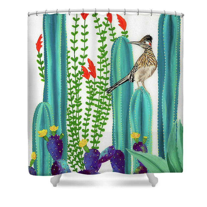 On Perch II - Shower Curtain