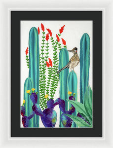 On Perch II - Framed Print