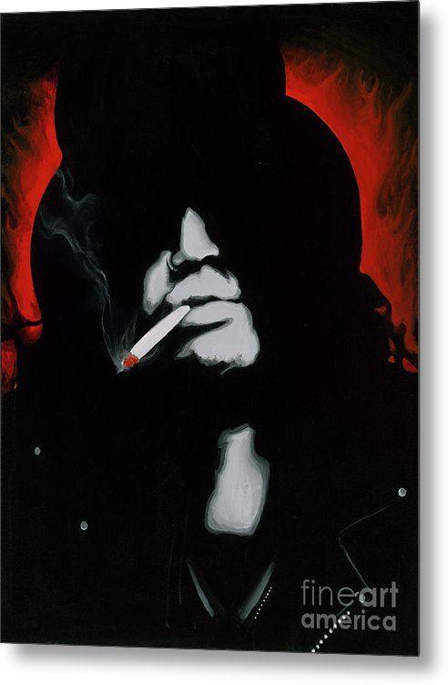 Slash - Metal Print