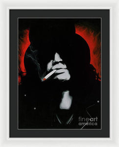 Slash - Framed Print