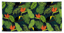 Load image into Gallery viewer, Toucan Jungle Pattern - Beach Towel
