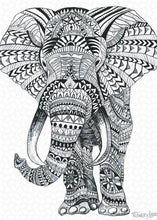 Load image into Gallery viewer, Tribal Elephant Mandala - Puzzle