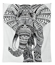 Load image into Gallery viewer, Tribal Elephant Mandala - Tapestry