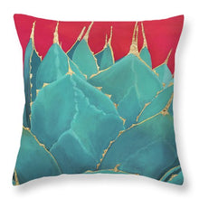 Load image into Gallery viewer, Turquoise Fire - Throw Pillow