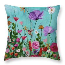 Load image into Gallery viewer, Wild and Wondrous - Throw Pillow