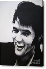 Load image into Gallery viewer, Young Elvis - Canvas Print